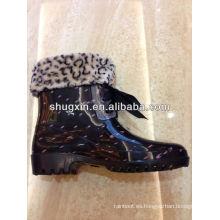 zapatos de moda estilo italiano caliente del pvc