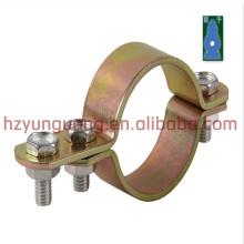 El hardware de la línea eléctrica conecta la abrazadera de la construcción de la construcción accesorio accesorio de la abrazadera de montaje del poste de la luz de calle de la potencia de la calle