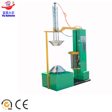Motorcycle tyre wrapping machine