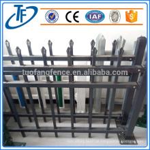 Billige Garnison Zaun geschweißt Pfosten Zaun Eisen Zaun
