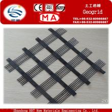 Geogrelha de plástico biaxial com padrão ASTM