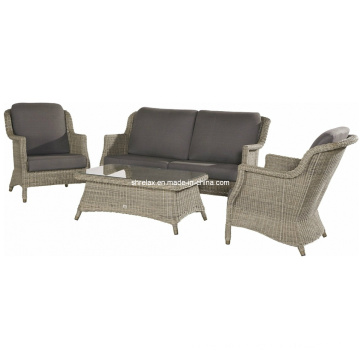 Outdoor Lounge Sofa Set Rattan Patio Garden Wicker Furniture