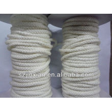 cuerda de algodón / cuerda trenzada de algodón / cuerda de algodón