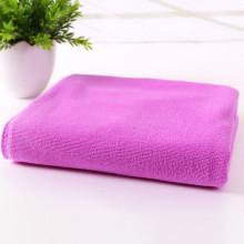 Microfiber towel with anti-static