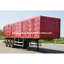 3 Axles Transport Semi-Trailer/Box Semi Trailer