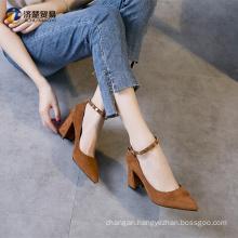 Rough with women's shoes girls latest high heel sandals High heels