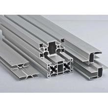 Puerta de ventana de aluminio moderno Construcción de la estructura Perfil de aluminio