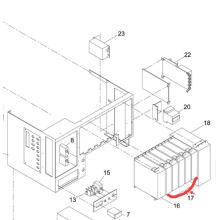 Драйвер мотора Panasonic SMT для Sp60p-М экран принтера машина (N510005940AA)