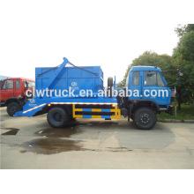 4x2 dongfeng 145 caminhão de lixo, 8 ton caminhão de lixo dimensões