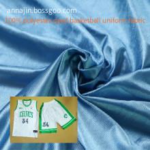 100% polyester dyed basketball uniform fabric