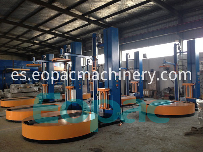 Cylinder stretch Film Wrapping machine