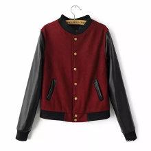 2015 Hot Sale New Fashion Winter Women Leather Jacket