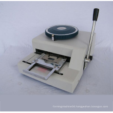 Manual Dog Tag Embossing Machine