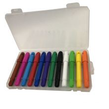 Twistble Marker Sticks 12 Color Face Paint Crayon