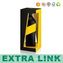 cool wine FSC cardboard box