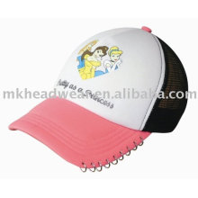 Kids Trucker Cap with Beautiful Painting (KK76134)
