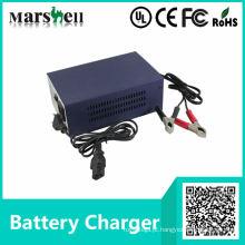 Carregador de bateria de ácido-chumbo recarregável para carrinho elétrico