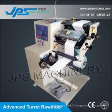 Jps-320fq-Tr Turret Rewinder Sticker Paper Auto Slitter Machine