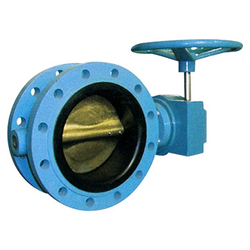 Double-Flange Butterfly Valve Pn6