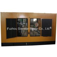 Générateur silencieux d'alimentation en attente 80kw 100 kVA avec moteur Cummins 6BTA5.9-G2