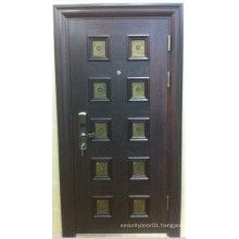Glass Window Steel Security Door