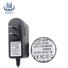 5v 1a adaptateur pour ordinateur portable cc avec UE US AU UK plug Adaptateur secteur adaptateur mural 5.5 * 1.7mm