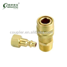 Quick connect high quality cheap brass pipe fittings set