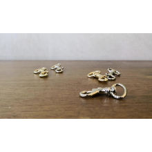 13mm Small Metal Dog Snap Hook for Handbag Clutch and Dog Slash