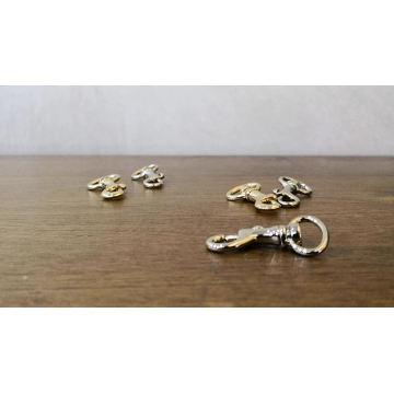 13mm Small Metal Dog Snap Hook for Handbag Clutch and Dog Slash