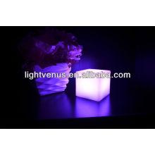 10cm usb a conduit la lumière de table de cube