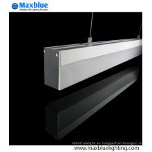 Suspensión suspendida perfil de aluminio para la tira de LED
