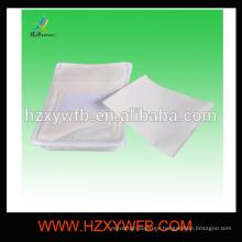 Spunlace no tejido desechable con bandeja y pinzas Toalla caliente para aerolínea
