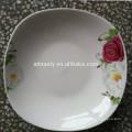 new design porcelain square bowl soup bowl