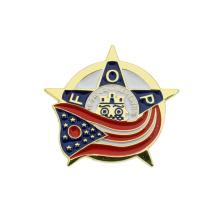 Free Sample Metal Custom Pin Button Badge