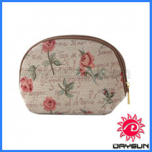Fashion daily use cosmetic bag purse for promotion