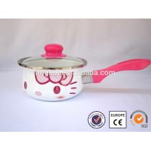 Olla de esmalte de alta calidad y segura para hierbas / alimentos calientes