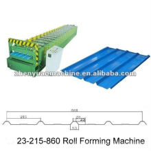 trapezoidal profile metal roofing sheet roll forming machine