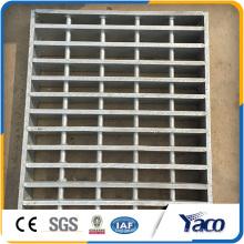 Reja de piso de acero resistente, precios de rejilla de acero galvanizado