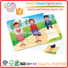 Wooden Occupation Puzzle - Wooden Educational Toy
