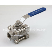 "3-PC Ball Valve (1/4""~4"") for Pipe Line"