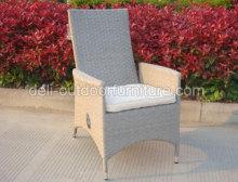 Εξωτερική λειτουργία λυγαριά μεταλλικό πλαίσιο καρέκλα UV αερίου ρυθμιστής