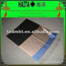 Seda imitación reversible bufanda