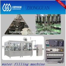 Opción de calidad completamente automática de la planta embotelladora de agua pura / mineral