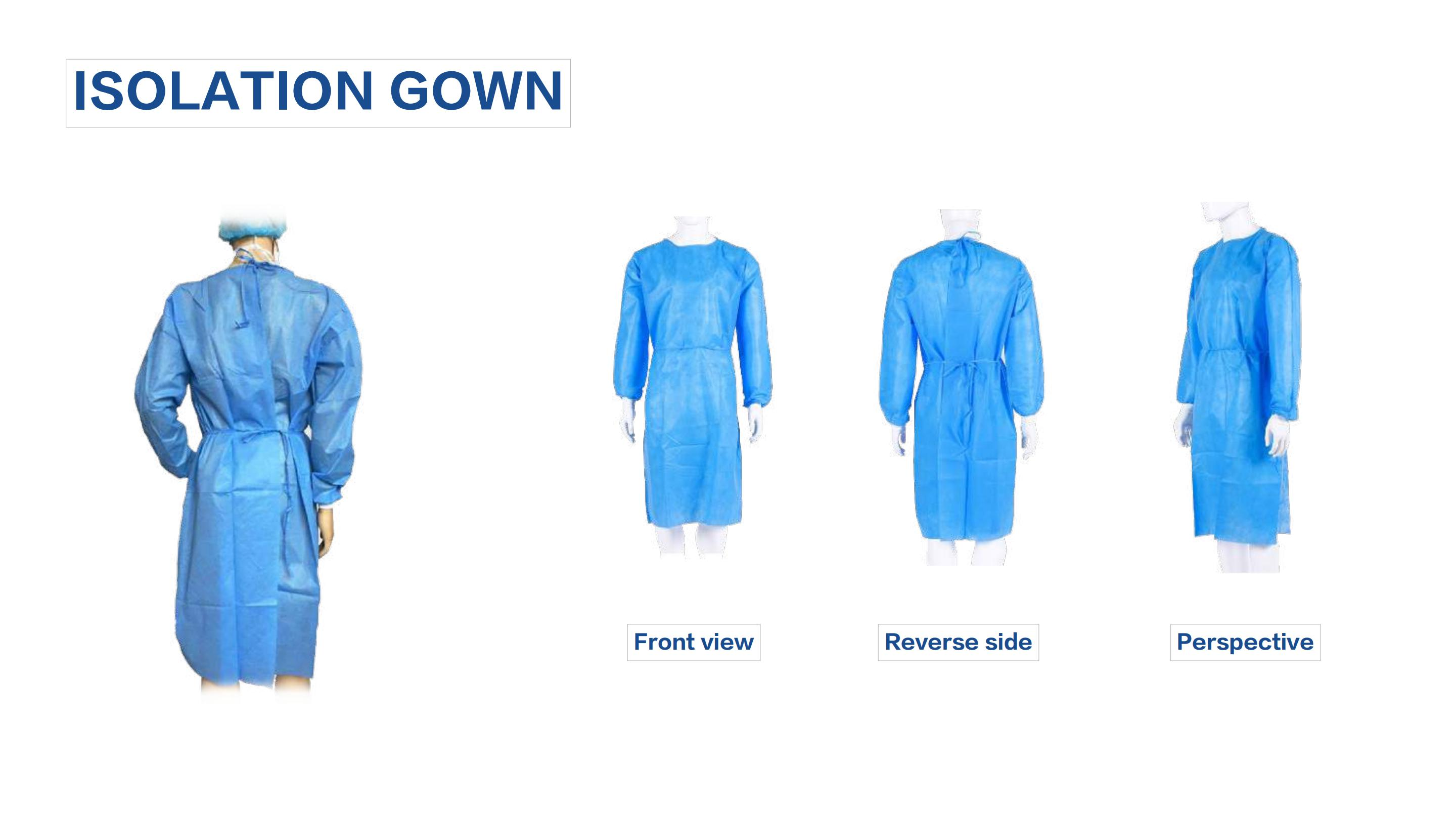 Medical Staff Coronavirus Protection Suit