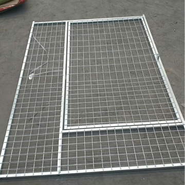 Welded Wire Mesh Iron Dog Fence Kennel