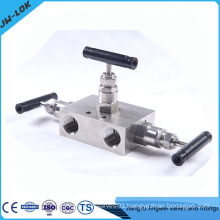 2013 hot sale ss316 3 way manifold valve