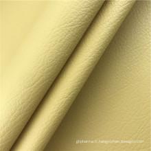 Matériaux d'emballage de style classique tissu en cuir pvc