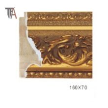 Golden Color High Copy Marmoration Molding Window Frame