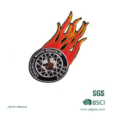 Feuer Logo Polizei Stickerei Patch