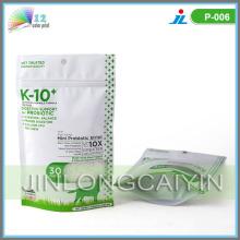 Sac à provisions Zipper Plastic Food Packaging